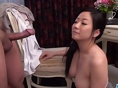 Busty Shino Izumi loves sucking the cock until orgasm  - More at one's disposal 69avs com