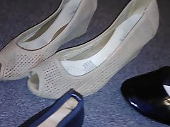 Stolen heels flats wedges off my sexy asian neighbour (Veronica)