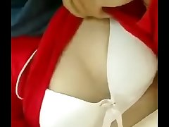 office girl akin to boobs on cam
