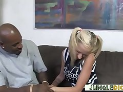 Busty Cheerleader Ready Be incumbent on Big Black Cockzilla - Kaylee Hilton