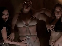 Carla Gallo - Striptease with family in Carnivale - S01E05 (uploaded by celebeclipse.com)