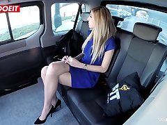 LETSDOEIT - Czech Babe Seduced and Fucked Hardcore in Uber