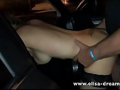 Dogging in the street with strangers