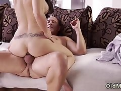 German blonde perfect tits and blue balls blowjob Rough bang-out for