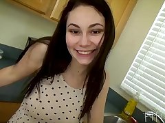 Young Daughter'_s Secret Danger with Daddy - POV, Teen, Brunette - Lenna Lux