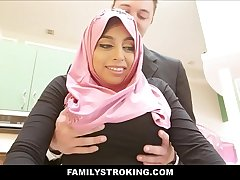 Thick Big Ass Virgin Muslim Teen Step Daughter Ella Knox Has Sex Close by Step Dad Check b determine He Accidentally Mistakes Her For Her Mom