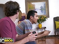 BANGBROS - MILF Nicole Aniston Services Her Son'_s Little Band together