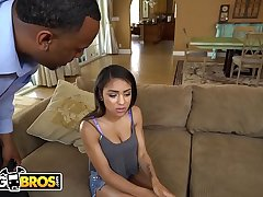 BANGBROS - Teen Nicole Bexley Gets Caught Sexting And Her Step Dad Is Not Happy