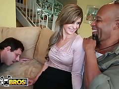 BANGBROS - MILF Chloe Furore Uses Shane Diesel'_s Big Black Cock To Turn Her Husband Into A Cuckold
