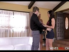Hot Young Blonde Cheating Wife Lyra Law Has Husband Watch Her Fuck Another Cooky Jennifer White