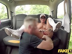 Enactment Taxi Anal stretching of the fruity kind