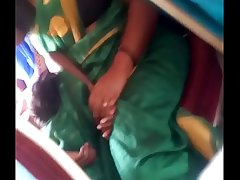 Aunty in bus.. blouse nipple visible... Watch carefully 2