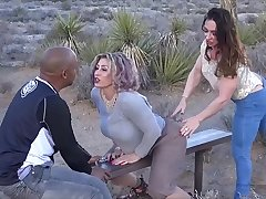 Big Tit Muscle Girls Sit On Black Guys Face - Rapture &_ Brandi