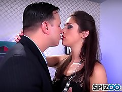 Spizoo - Teen Anna Morna is punished by a broad in the beam dick, broad in the beam booty