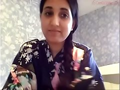 Indian Desi girl at bottom cam -1