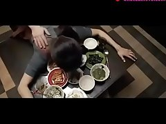 japanese wife fucked on table by skimp