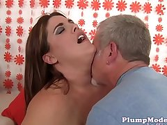 Highheeled ssbbw gets doggystyled