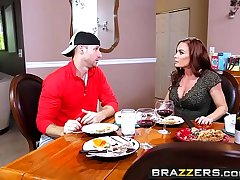Brazzers - Female parent Got Boobs - Diamond Fo and Sean Miscreant - Midnight Milk