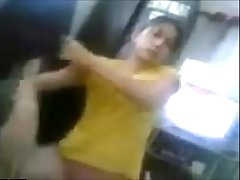 Horny wife sex with other man while husband was in abroad