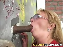 Lord it over Cougar Kiss Fuck Black Dick - Gloryhole