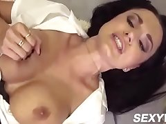 Ania Kinski In Polish MILF fucks to gushing squirt