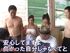 SEXY Funny Japanese Game Edict with Hot Bikini Girls Models at Pool