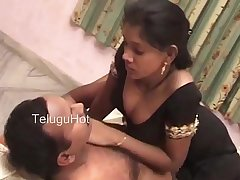 South Indian hot telugu wife buttering-up video scene (new)