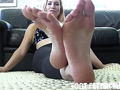 I will let you look up to my perfect feet
