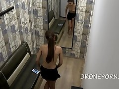 Baby Shiine - Dress room spy cam