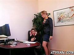 Thraldom fetish act with sexy tied up babe getting licked