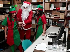 shoplyfter  teen elf  harmony wonder part1