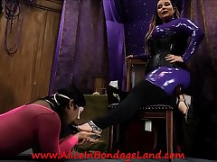 Pedicure Bargain - Foot Talisman Mistress Worship AliceInBondageLand
