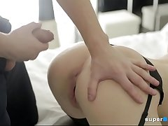 Beautiful Russian Teen Fucked by One Guy