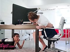 When Girls Play - (Jojo Kiss, Maya Bijou) - Study Buddies - Twistys